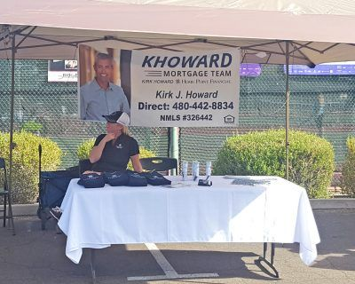 Julie Howard of KHoward Mortgage Team at Red Mountain Ranch Community Day