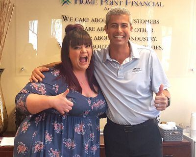 Kirk Howard of KHoward Mortgage Team and Amy Valles