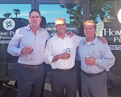 Ty Kern, Kirk Howard, and Richard Pierce with Home Point Financial