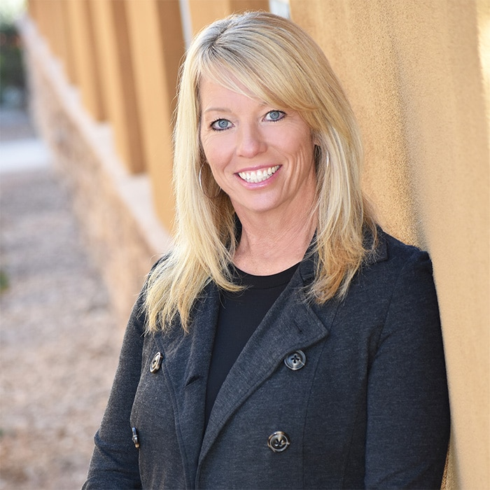 Julie Howard, production assistant at KHoward Mesa Mortgage Team
